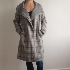 Babaton Atelier - Cormac Plaid Wool Coat